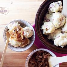 Strapaté zemiakovo-mäsové knedlíky