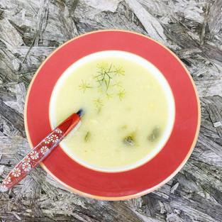 Cukinovo-zemiaková polievka