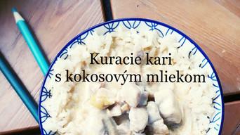 KURACIE KARI #kokosové mlieko