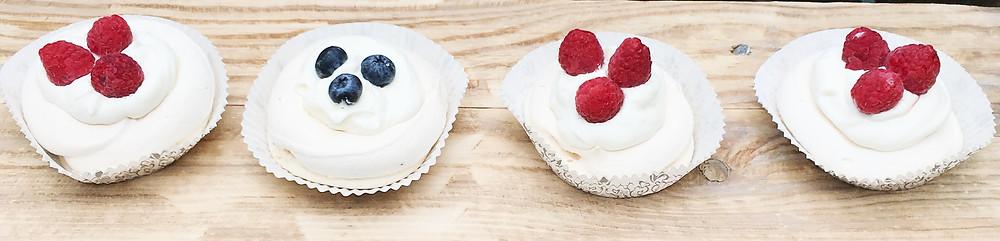 mini Pavlovová torta