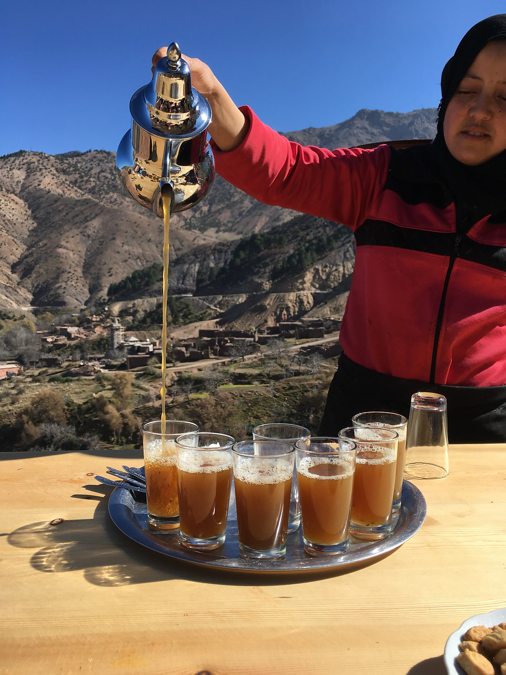 tradičný Marocký čaj