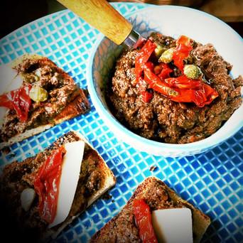 Olivové pesto II- so sušenými paradajkami
