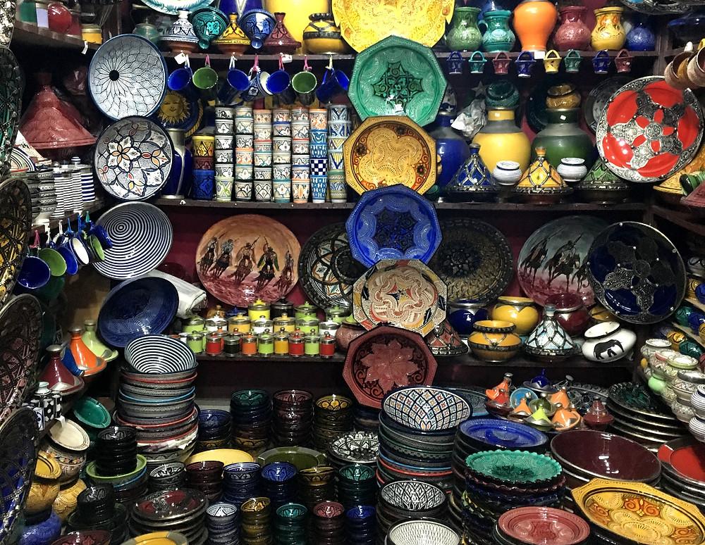 Marakéš a ich keramika
