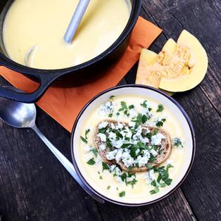 Tekvicová pikantná polievka