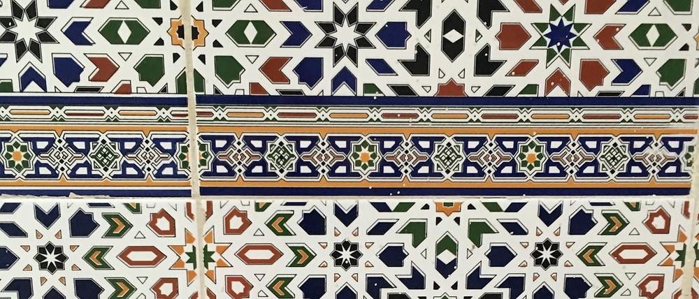 Tradičné mozaikové kachličky