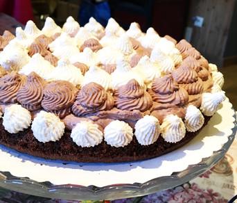 """Parížska torta  """"HARLEKÍN"""""""
