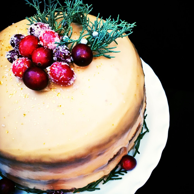 VIANOČNÁ TORTA