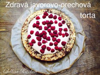 ZDRAVÁ JAVOROVO-ORECHOVÁ TORTA