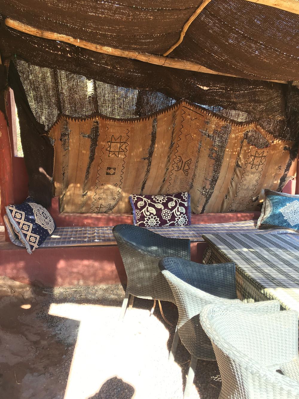 Kaviareň v Ouarzazate
