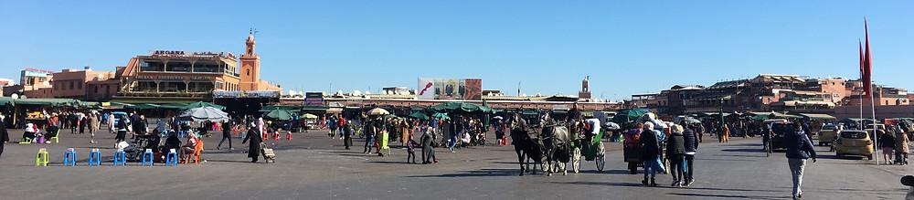 Medina-hlavné námestie