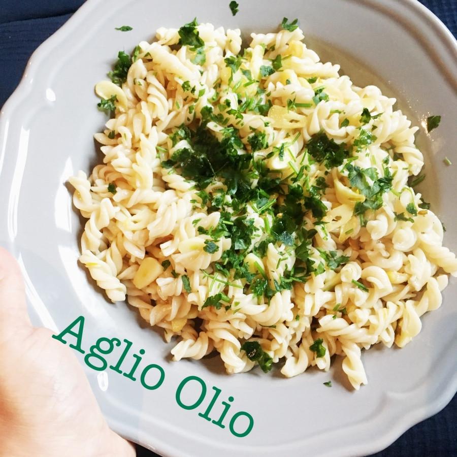 cestoviny aglio olio