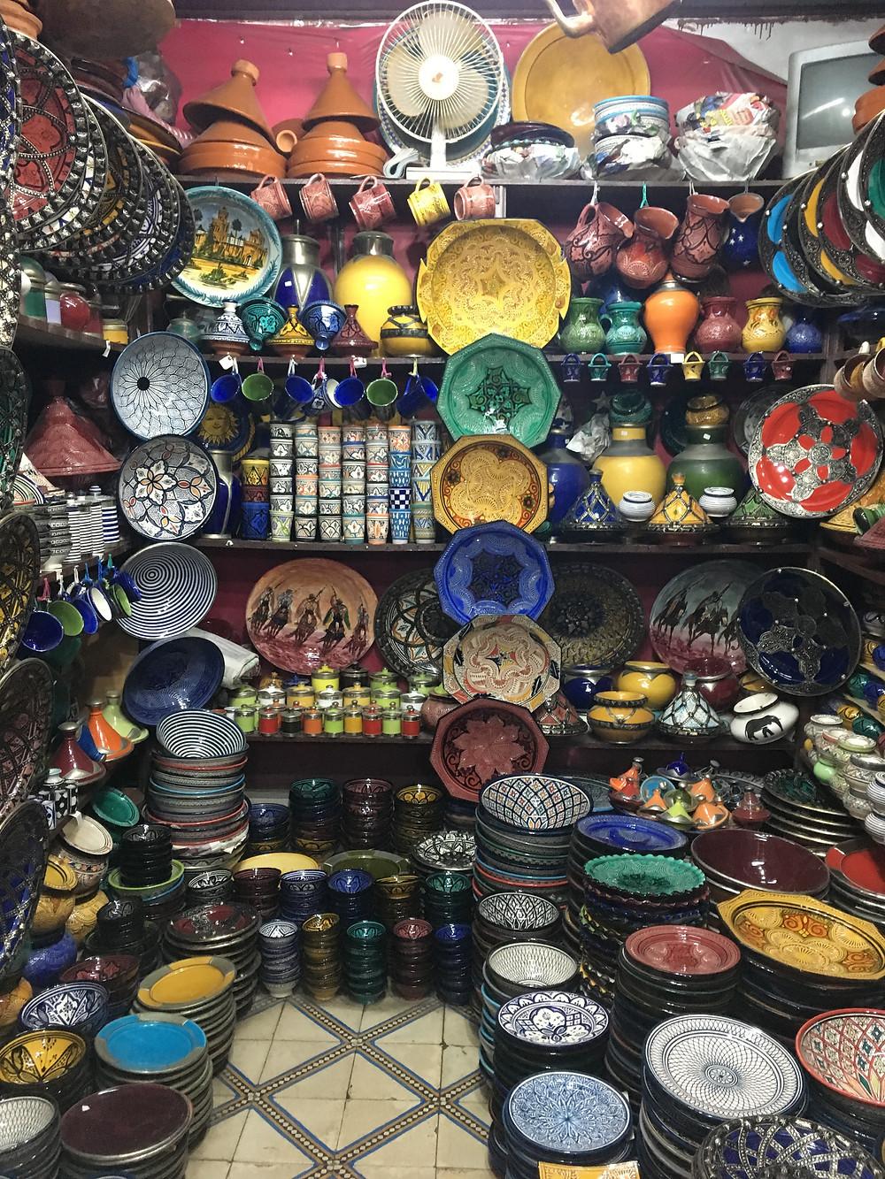 Nádherná farebná keramika