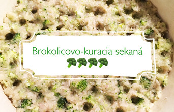 Brokolicovo-kuracia sekaná