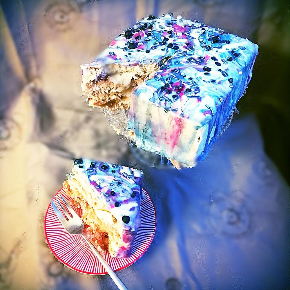 lesklá poleva na tortu