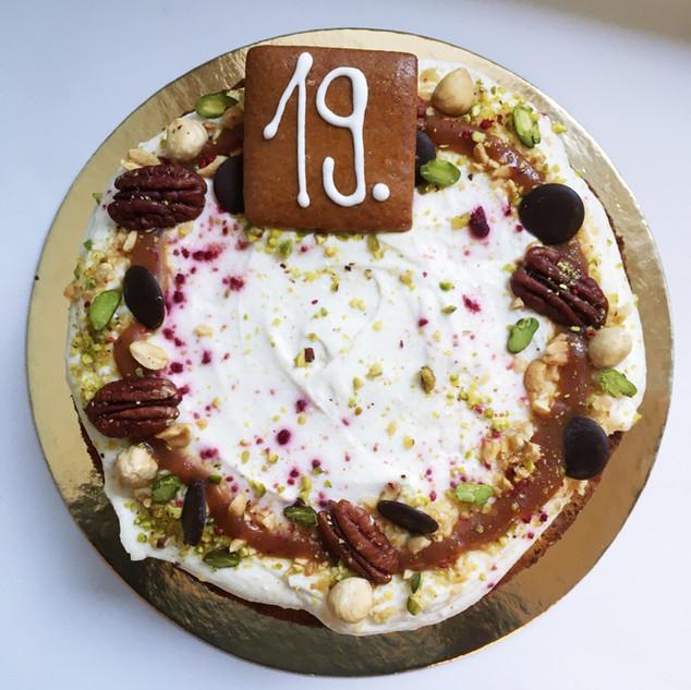 Mrkvova torta 40,-