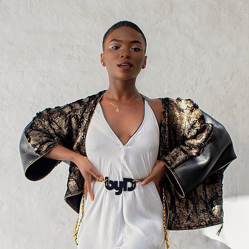 Kimono fourrure
