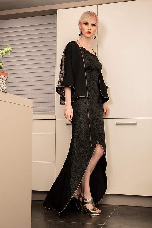 robe traine wax noir