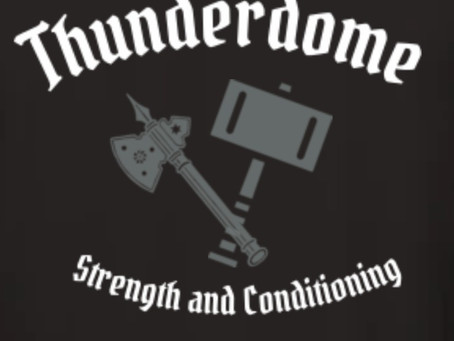 Welcome to Thunderdome Strength & Conditioning!