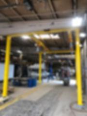 4 post monorails Pic 1 VT Hackney Americ