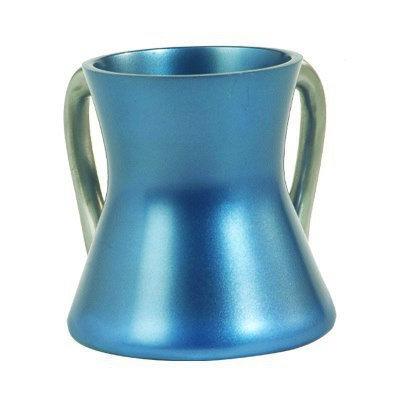 Small Netilat Yadayim Cup- blue