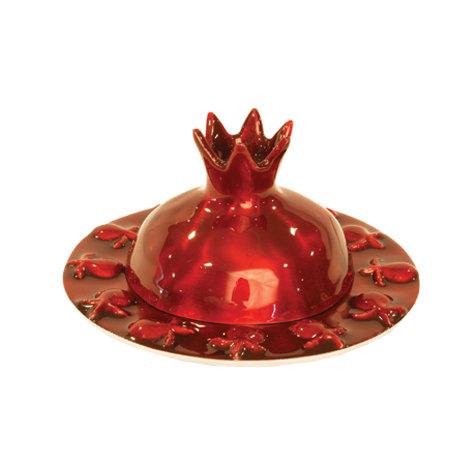 Red Honey jar metaln #344