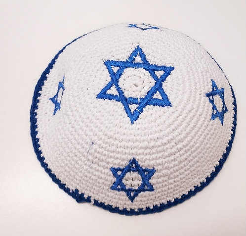 Knitted kippah hand made #459