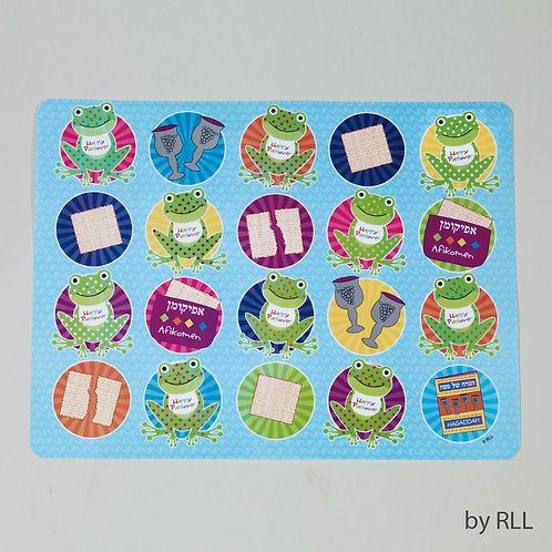 Rectangle Vinyl Passover Placemat