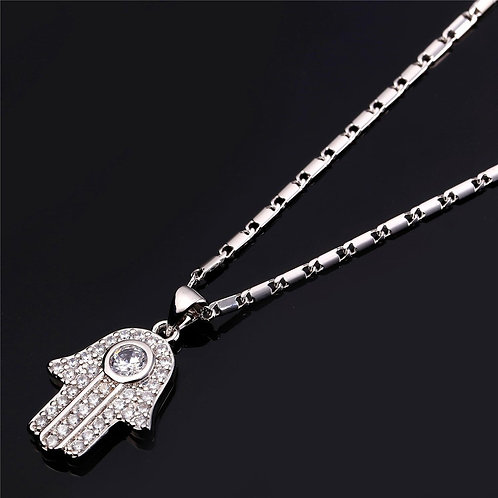 Hamsah Necklace silver Model Number :P692