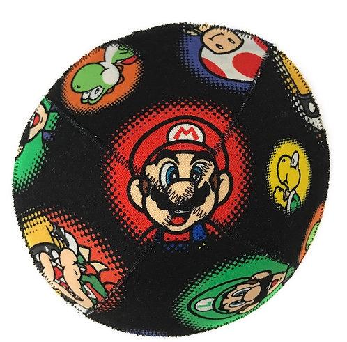Mario #02 fabric kippah