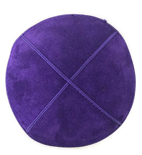 Purple Suede Kippah