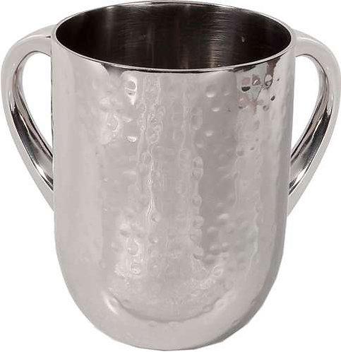 Hammer Work Netilat Yadayim Cup- silver