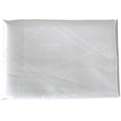 Shabbos table cloth white 140 0n 350 cm