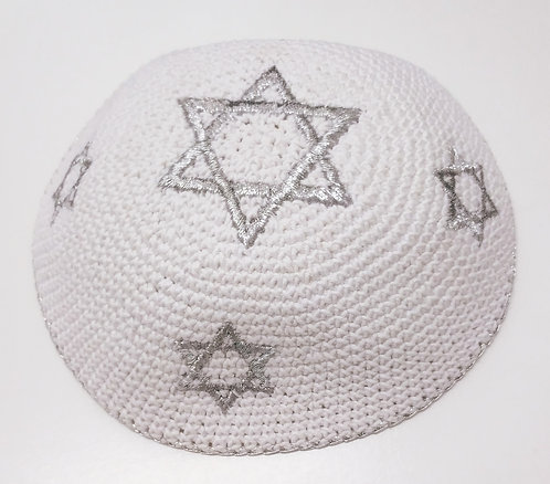 Knitted kippah hand made #461