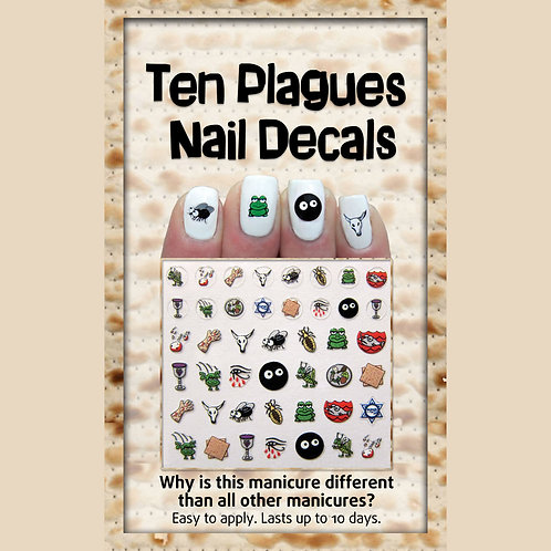Midrash Manicure Passover Nail Decals