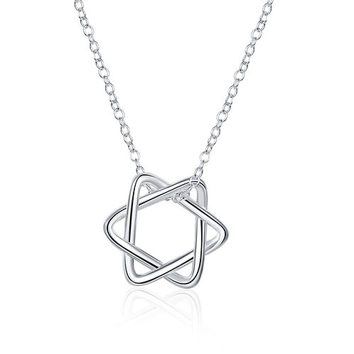 Magen Star of David Necklace Women Bat Mitzvah Gift