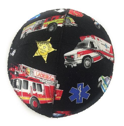 Fire Truck Fabric Kippah