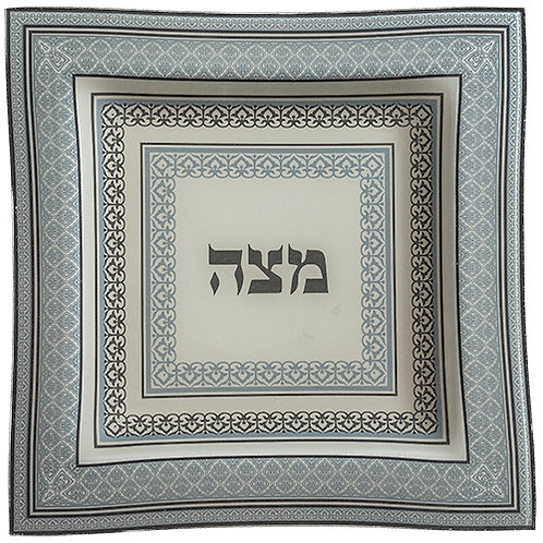 Glass Matzah Tray UK44231