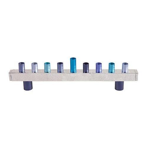 Menorah - Hammer - Blue Emanuel HMU-2