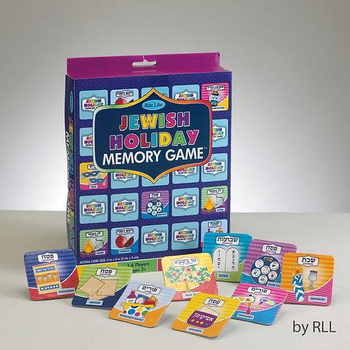 JEWISH HOLIDAYS MEMORY GAME, 64 CARDS, COLOR BOX