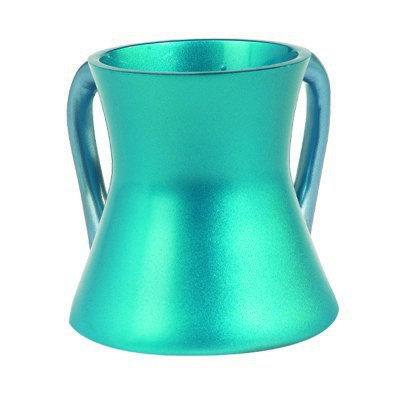 Small Netilat Yadayim Cup- turquoise