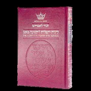 Artscroll: Kinnos / Tishah B'av Service  Ashkenaz  Standard Size by Rabb