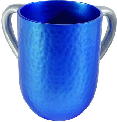 Hammer Work Netilat Yadayim Cup- blue