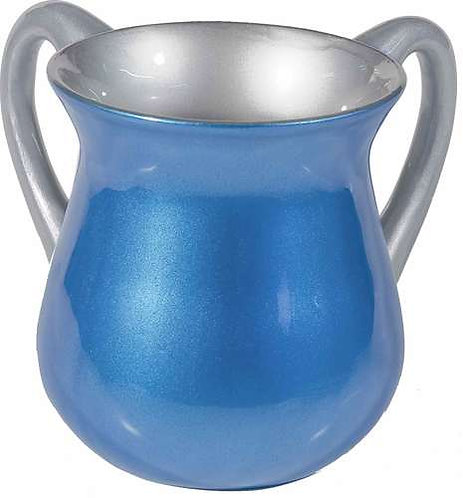 Small Netilat Yadaim Cup- blue