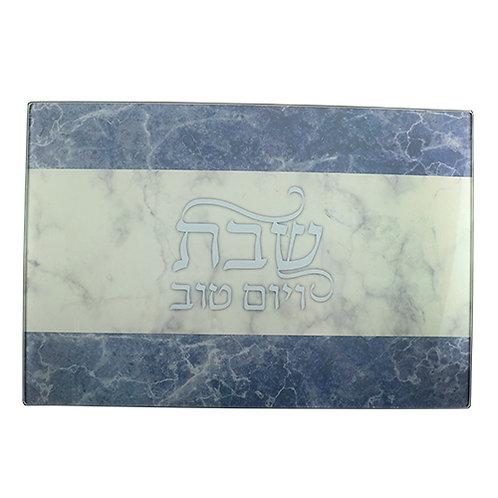 Glass Challah Board 37*25 Cm 43467