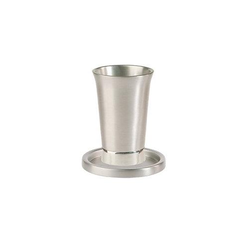 Yair Emanuel Silver Anodized Aluminum Kiddush Cup