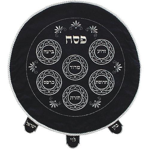 Velvet Passover Cover 47 cm- navy