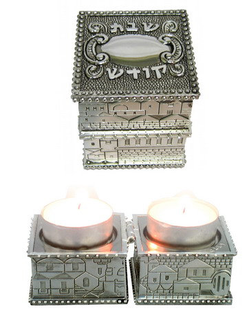 UK40430 - BS TRAVEL CANDLESTICK 5 cm
