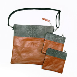 leather tallis bags