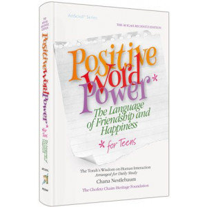 Artscroll: Positive Word Power for Teens - Pocket Size Hardcover