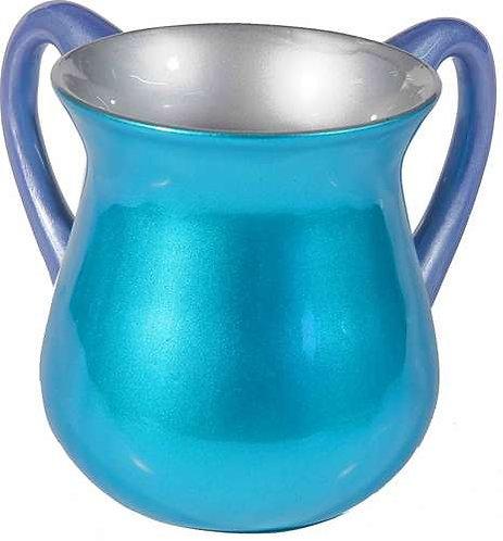 Small Netilat Yadaim Cup- turquoise